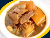 蘿卜片燒肉
